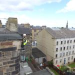 Rope Access Building inspection edinburgh