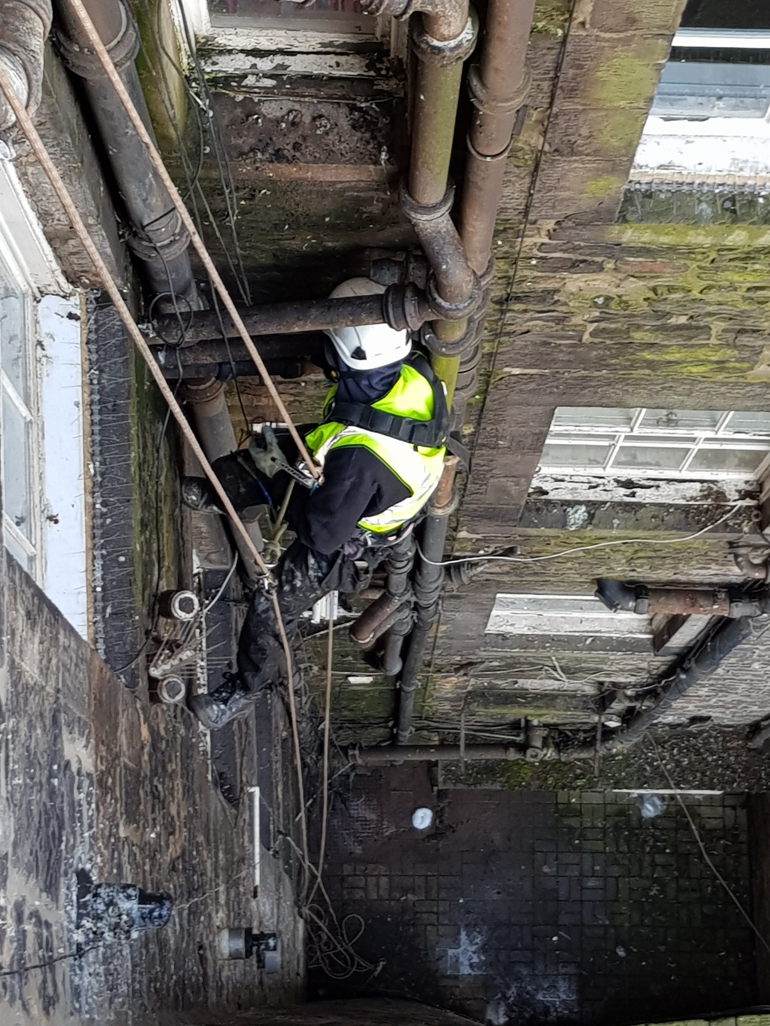 building inspection rope access scotland